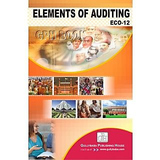 ECO12 Elements of Auditing (IGNOU Help book for ECO-12 in English Medium)