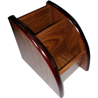 Wooden Office Stationery by desi karigar
