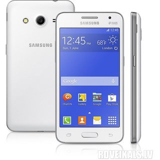 New Housing Body Panel - For Samsung Galaxy Core 2 G-355H - White