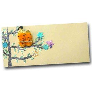 Designer Love birds on tree Money gifting Envelopes Handmade Lifafa