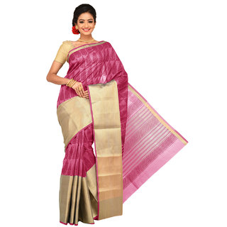 Sangam Chanderi Cotton Saree KSSSK010PK
