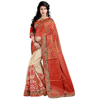 Alberts Embriodered Assam Silk Silk Sari 3019
