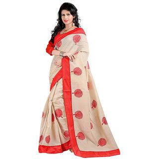 Alberts Embriodered Assam Silk Silk Sari 3020