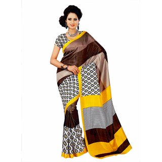 Miraan Bhagalpuri Silk Sarees With Blouse Piece VI7711A