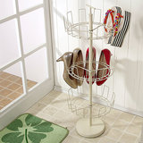 The New Look Metal Shoes Rack BTS7 white at shopclues
