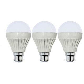 VRCT 3W LED Bulb Set of 3 Piece Combo Offer