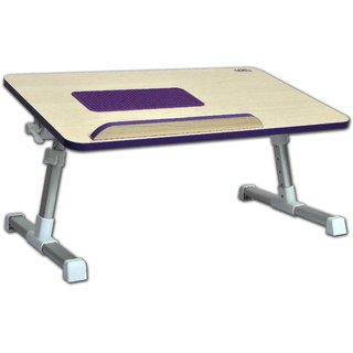 DGB Classic Plus Laptop Table with Cooling Fan(Purple) available at ShopClues for Rs.1349