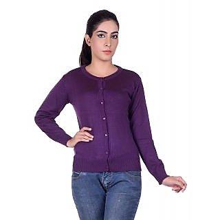 Ogarti 9002 Plain Purple Cardigans