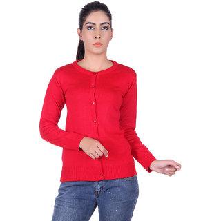 Ogarti 9002 Plain Red Cardigans