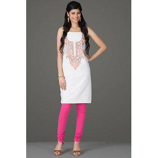Thread Of Art Unstitched Silk Kurtis Dress Materials
