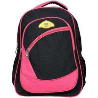 Sami Polyester Pink School Bag