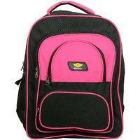 Sami Pink Polyester Cars Kids School Bag