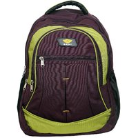 Sami Green Polyester School Bag