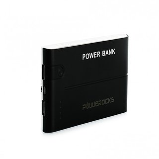 Powerocks AXIS 100 10000 mAh Power Bank Charger (Black-White)