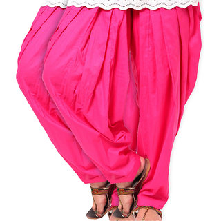Brandtrendz Set Of 2 Cotton Patiyala Salwar (SsalwarRaniRani)