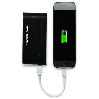 Powerocks AXIS 150 15000 mAh Power Bank Charger (Black-White)