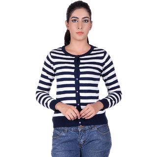 Ogarti 9005 Striped Navy White Cardigans