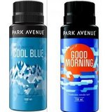 Park Avenue  Deo Spray Combo Pack(cool blue,gud morning) - 150 ml