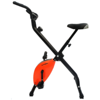 IMPORTED MAGNETIC EXERCISE BIKE / CYCLE X BIKE (FOLDING) (ORANGE COLOUR)