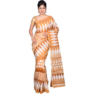 Glamorous Lady Printed Mangalgiri Polycotton Saree (GL0044)