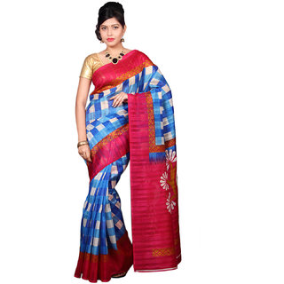 Glamorous Lady Fancy Bhagalpuri Printed Saree (GL0097)