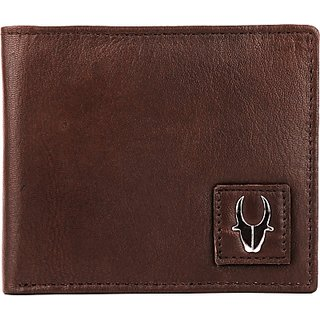Wildhorn Men Brown Genuine Leather Wallet (6 Card Slots)