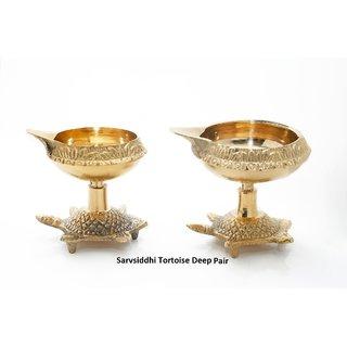 Sarvsiddhi Tortoise Deepak Set B