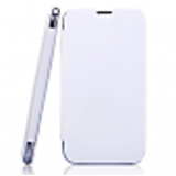 FLIP COVER MICROMAX BOLT A26 WHITE