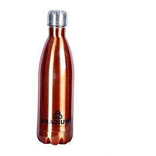 CSM Rhadium Thermo Steel Cola Bottle (Hot  Cold) 500ml