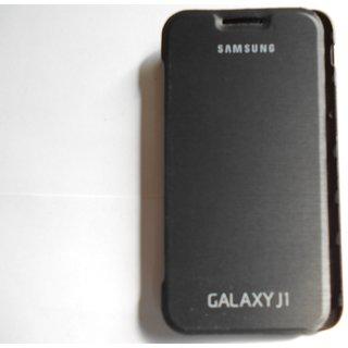 Samsung Galaxy J1 Flip Cover - Black