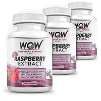 Wow Rasberry Ketones Plus Diet, 60 Capsules (Pack Of 3)