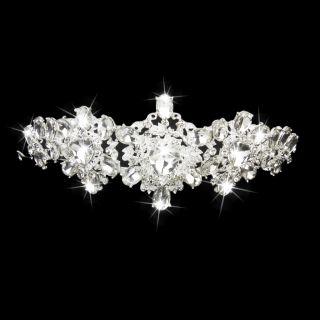 Phenovo Crystal Rhinestone Bridal Bridesmaid Wedding Tiara Crown