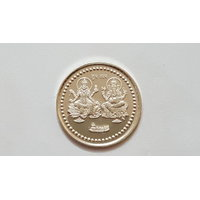 Ganeshji  Laxmiji Pure Silver Coin 10 gm ASHOKA JEWELLERS