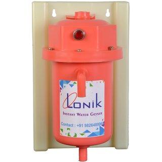 Lonik Instant water geyser portable water heater LTPL9050 - Pink