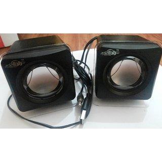 Original AD NET Speakers USB 2.0 Mini Portable for Laptop, Desktop,PC