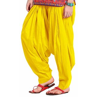 Yellow Patiyala Salwar