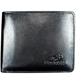 Moochies Genuine Leather Gents Wallet Black (emzmocgw14bl)