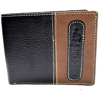 Moochies Genuine Leather Gents Wallet Black (emzmocgw2bl)