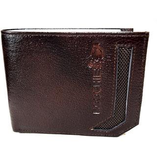 Moochies Genuine Leather Gents Wallet Brown (emzmocgw4br)