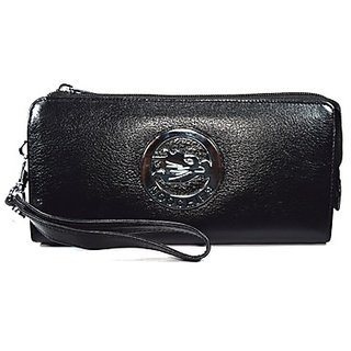 Moochies Ladies Wallet Clutches Black (emzmocww9black)