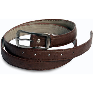 Women dark brown belt