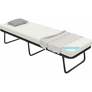 Needus Lightweight Folding Bed with Foam Mattress by Camabeds