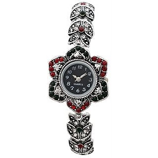 Bracelet diamond wrist watch for gift-E