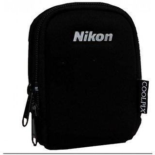 Soft Camera Pouch for Nikon Camera (Black)