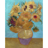 Vincent Van Gogh, Sunflowers, Giclee Print On Archival Paper