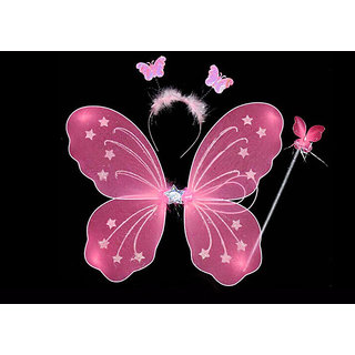 Sparkling Fairy Party Costume Baby Butterfly Wings for Baby Girl Angel