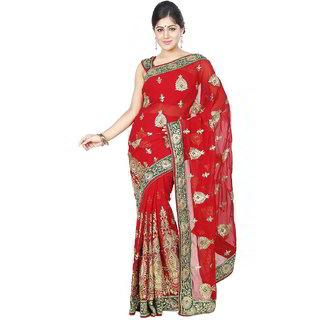 Da Facioun Women Party Bridal Wedding Ethnic Saree Indian Formal