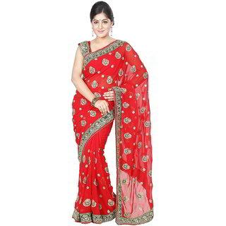 Da Facioun Women Bridal Indian Wedding Party Ethnic Saree Formal