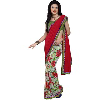 Da Facioun Women Formal Party Wedding Bridal Ethnic Saree Indian