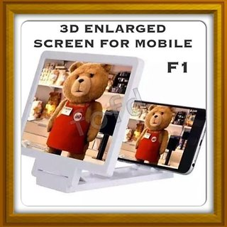 New 3D Enlarger/ Magnifier F1 Glass - For Mobile Phones - IPhone / Samsung